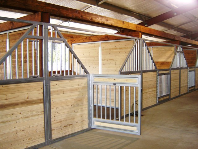 OK Corrals Stalls Fencing Doors Horse Equine Equipment Made Of Steel Galvanized